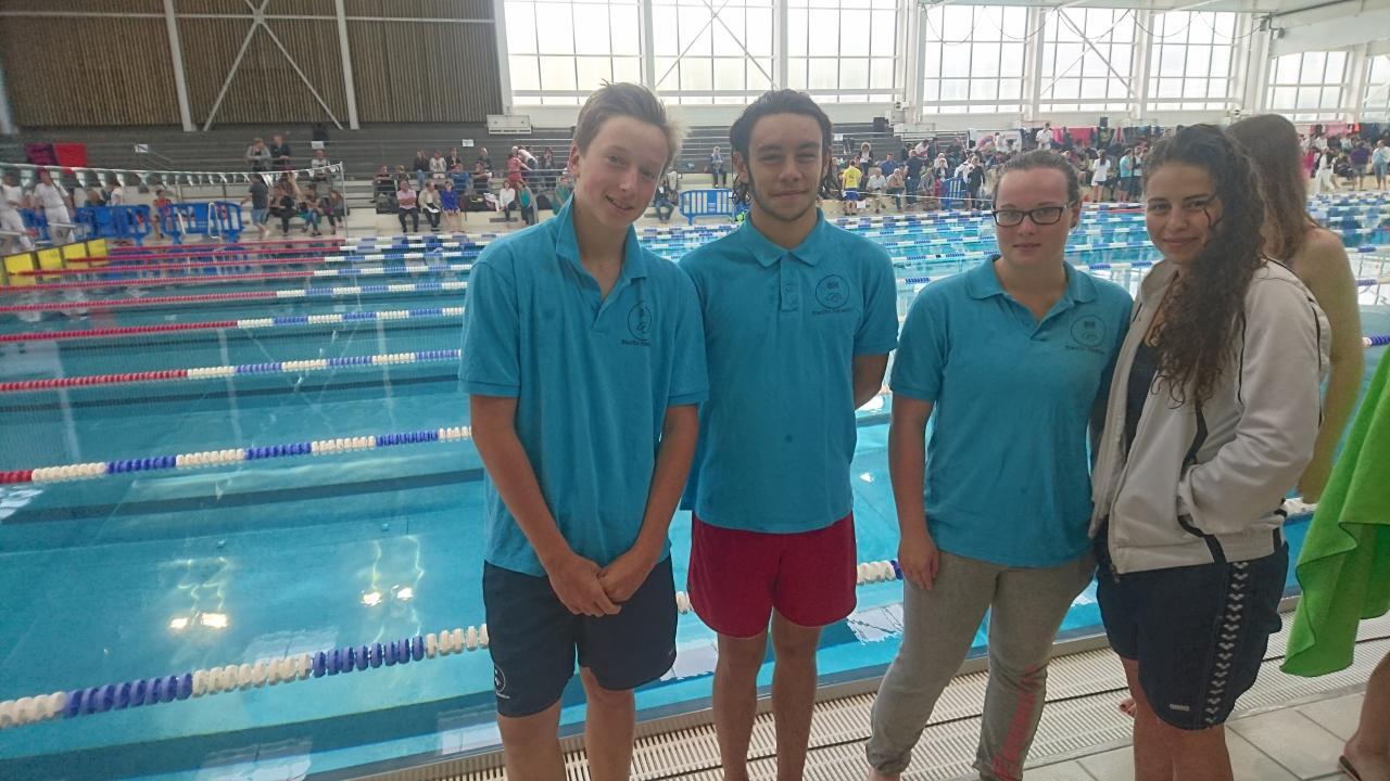 4 nageurs au Championnat Régional Hauts de France